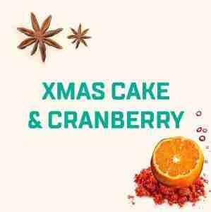 Xmas Cake & Cranberry